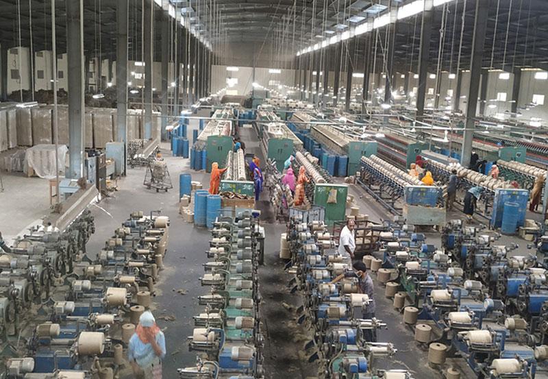 孟加拉国黄麻纱线生产基地